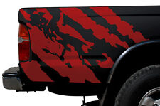 Custom Vinyl Graphics Decal Wrap Kit for 1995-2004 Toyota Tacoma TRD Ripped RED