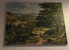 Naive originale künstlerische Öl-Malerei direkt vom Künstler