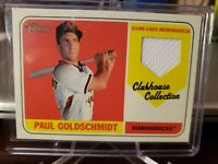 PAUL GOLDSCHMIDT 2018 TOPPS HERITAGE CLUBHOUSE COLLECTION GAME-USED JERSEY
