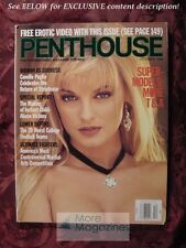 PENTHOUSE October 1994 HEIDI LYNNE CAMILLE PAGLIA Supermodels