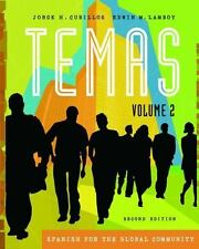 Temas: Spanish for the Global Community-ExLibrary