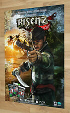Risen 2 Dark Waters Promo Poster Xbox 360 Playstation 3 // 59x42cm