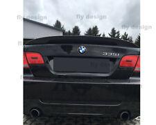 BMW 3er E90 glanz SCHWARZ lackiert Spoiler neu extra breit Heckspoiler HIGH KICK