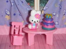Miniature Birthday Cake Party Lot Lot fits Fisher Price Loving Family Dollhouse