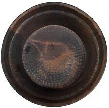 Rustic Pure Copper Foot Rub Soaking Bath Wash Massage Spa Therapy Pedicure Bowls