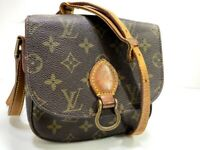 Auth LOUIS VUITTON Monogram Saint Cloud PM Shoulder Bag M51244 LV 59811523