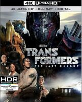 Transformers: The Last Knight [New 4K UHD Blu-ray] With Blu-Ray, 4K Mastering,