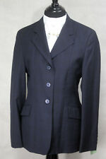 R J Classics Diamond Collection Show Coat, Navy Check, Size: 8R, Ref: 3818-7