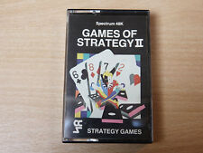 Sinclair ZX Spectrum - Games Of Strategy II by Strategy Games