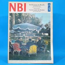 NBI 12/1965 DDR Besteigung des Mussalla Fernsehtruhe Kosmos Weimar Leipzig S