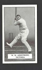 GALLAHER - FAMOUS CRICKETERS - #64 W W ARMSTRONG, VICTORIA