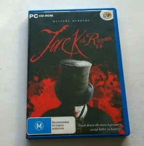 PC JACK THE RIPPER VIDEOGAME VIDEO GAME FREE POSTAGE
