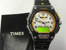 TIMEX MEN'S INDIGLO IRONMAN TRIATHLON ALARM CHRONOGRAPH WATCH T5K200 RRP £69.99