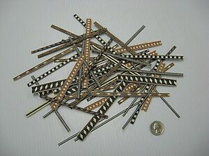 Veneer Inlay Banding Shorts - Approximately 50 pcs, VENEER WOODWORKING REQUIRED