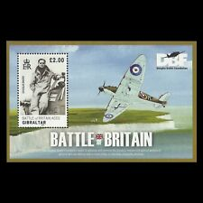Gibraltar 2010 - Battle of Britain Aviation Aircraft Military - Sc 1228 MNH