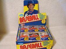 1989 Fleer Baseball Cello Pack 36 Cards MLB