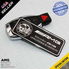 Car 3D Black Mercedes AMG Edition Interior Decal Sticker Badge Decoration Logo