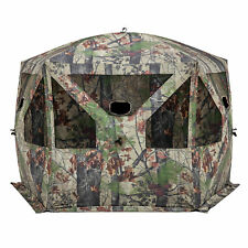 Barronett Blinds Pentagon Bloodtrail Backwoods Camo Large Ground Hunting Blind