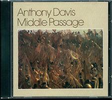 Anthony Davis-Middle Passage cd WEST GERMANY Red Gramavision