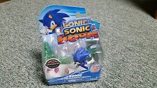 Sonic Boom-Sonic with Ancients Crystal- Exclusive Bonus Figure- NEW- Tomy