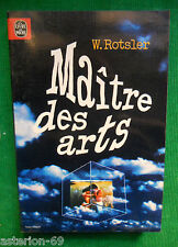 MAITRE DES ARTS WILLIAM ROTSLER N7036 LIVRE DE POCHE