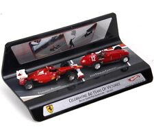 1:43 Ferrari 150 Alonso 2011 & Ferrari 375 Gonzalez 1951 1/43 • HOT WHEELS X6666