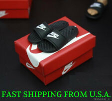 1/6 Scale Nike Slides Sandals Slippers Shoes B For Hot Toys Phicen Figure ❶USA❶