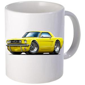 1965 1966 Ford Mustang Coupe Coffee Mug 11oz 15 oz Ceramic NEW