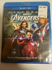 The Avengers: Marvel Superheroes Blu-ray + DVD,2012) NEW: Sealed