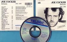 Joe Cocker - CD - Definite 1964-1986 - CD von 1987 - ! ! ! ! !