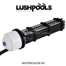 WATERCHLOR 40 WATERCO SALTY 30amp Replacement Chlorinator Cell  5yr Warranty
