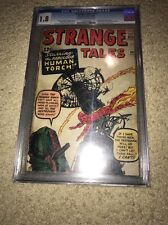 STRANGE TALES #101  1st Solo Story Of Human TORCH SINCE 1954 CGC 1.8