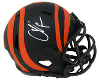 Chad Johnson Signed Cincinnati Bengals Eclipse Riddell Speed Mini Helmet- SS COA