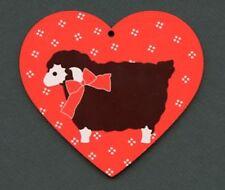 Scandinavian Nordic Sheep Lamb Christmas Ornament EL95