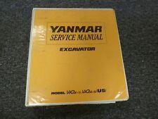 Yanmar Models ViO27-2 & ViO35-2 Mini Excavator Shop Service Repair Manual