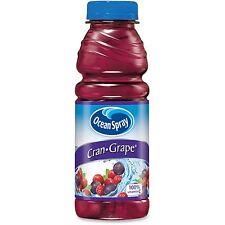 PepsiCo Oceanspray Cran-Grape Juice Plastic 15.2oz. 12/CT PE 70193