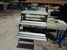 RV Trailer Motorhome Steps, 3 Step, New, Aluminum Tread, Foldable Entry, #10