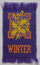 WINTER Symbols Canadian Miscellany 1910/15 Imperial Tobacco Woven Silks