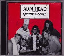Aloi Head And The Victor Motors - CD (Signed) VAN001 Shock Australia)