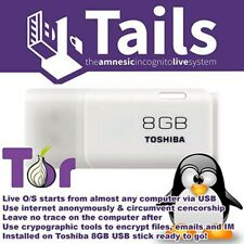 Tails Live Boot on 32GB USB 3.0 Stick