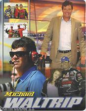 "2013 MICHAEL WALTRIP ""COLLAGE"" NASCAR SPRINT CUP SERIES POSTCARD"