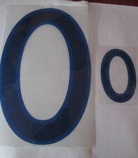 N ° 0 grandes y pequeñas Inglaterra Home Football Shirt nombre establecido sólo números de Deportivos Id