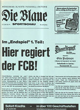 BL 80/81  FC Bayern München - Hamburger SV
