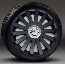 """cubre para encajar Nissan Micra Almera Tapacubos 4x15/"""" rueda Adornos Note"""