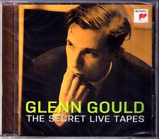 Glenn Gould The Secret Live nastri BACH BEETHOVEN Schoenberg Mitropoulos Krips CD