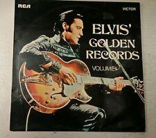 "RARE ELVIS L.P ""Elvis 'Golden Records VOL.1' rca label No de cat. SF 8129 EXC/EXC"