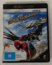 SPIDER-MAN: HOMECOMING - 4K UHD DVD + Blu-ray All Region oz seller 4K spiderman
