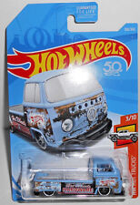Hot Wheels Hot Trucks VOLKSWAGON T2 PICKUP Blue (Hot Wheels Hardware) #108