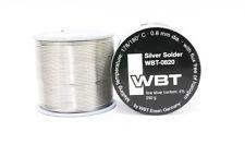 WBT -0820 /250g/ 73METER/0.8mm 4% Ag silver Solder for amplifier RCA XLR plug
