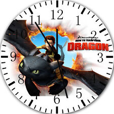 "How to Train Your Dragon wall Clock 10"" will be nice Gift Room wall Decor E64"